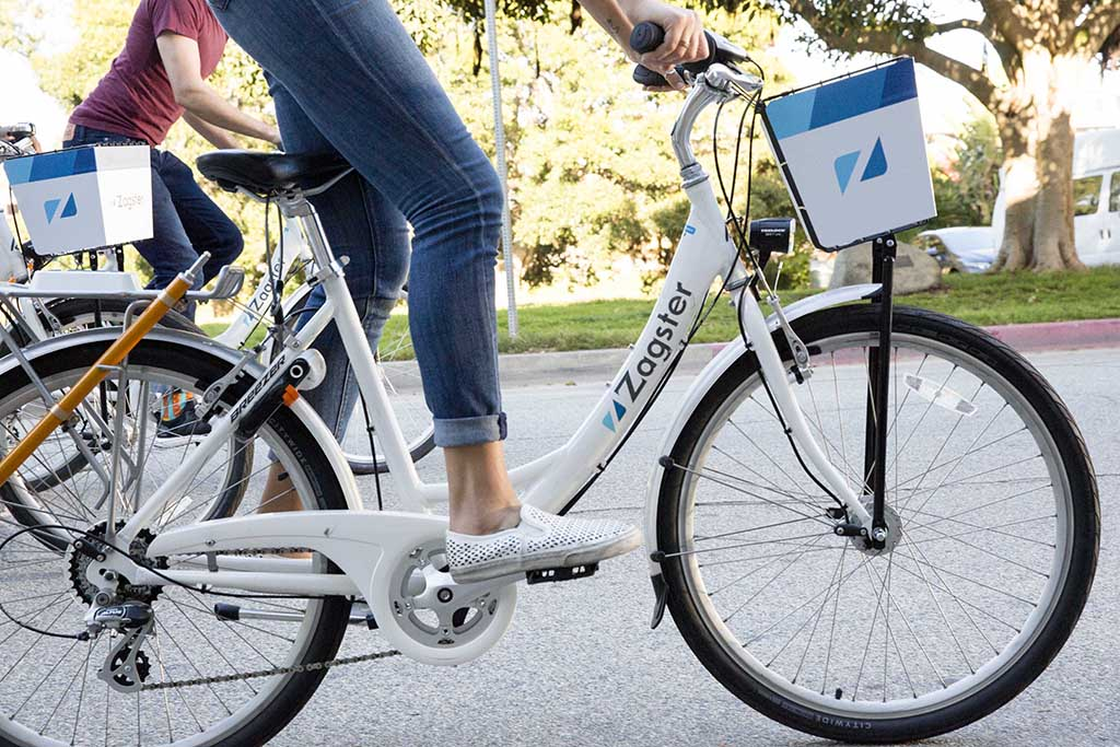 New Zagster Bike Station coming to The LUX
