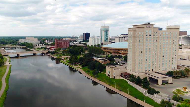 If Wichita dreamed big, what would downtown along the river look like?